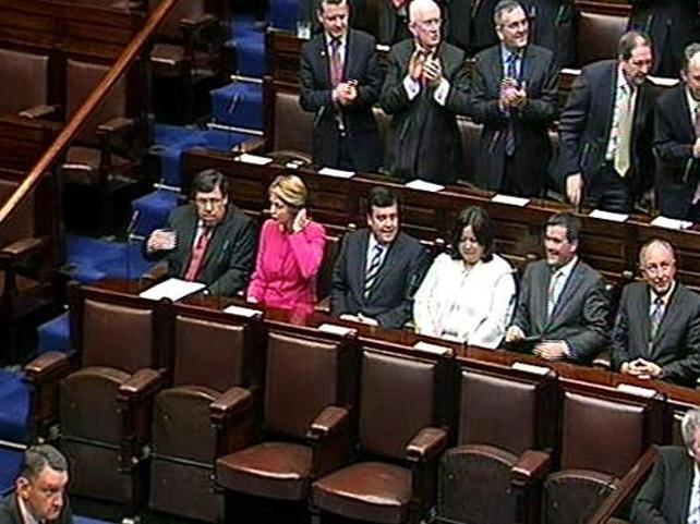 Dáil Éireann - New Cabinet