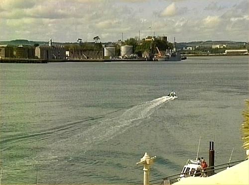 Cork harbour - Ringaskiddy development turned down