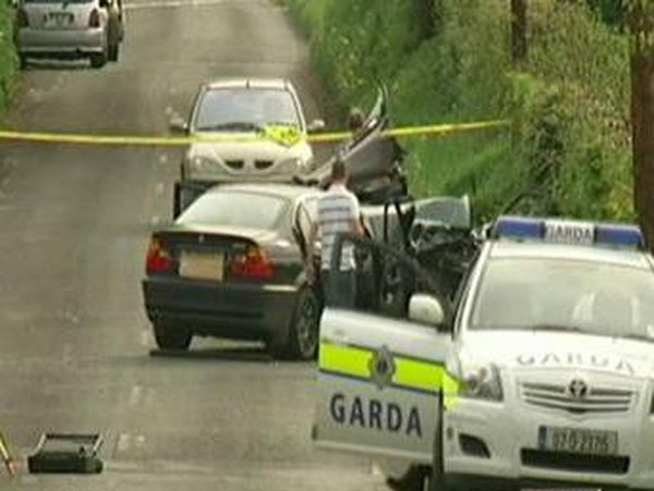 Annamoe - Two men killed in collision