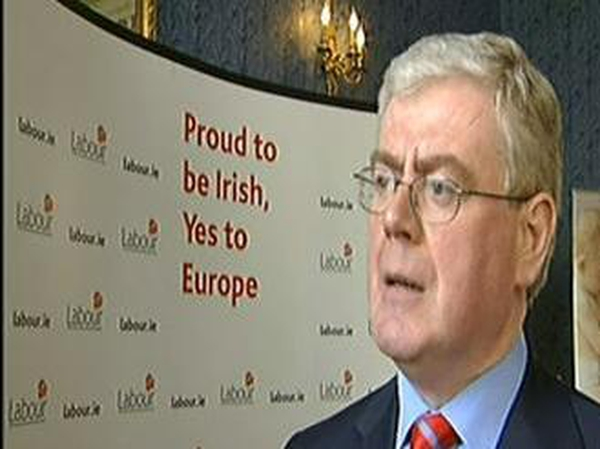Eamon Gilmore - Labour leader critical of SIPTU decision