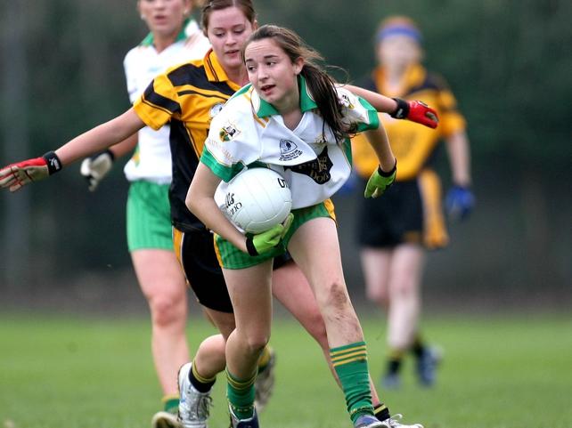Karen Kielt had an amazing haul of 2-13 in Derry's U-16 B victory