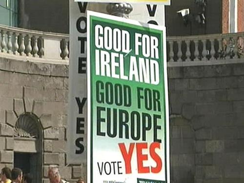 Lisbon Treaty - Rejected last June