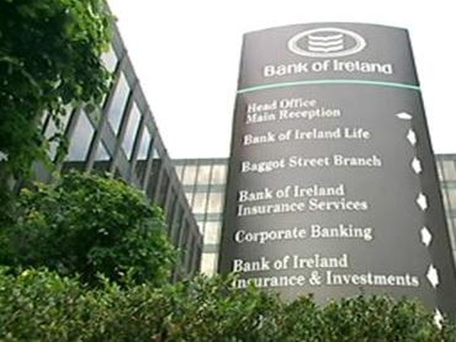 Bank of Ireland - Halves dividend for year
