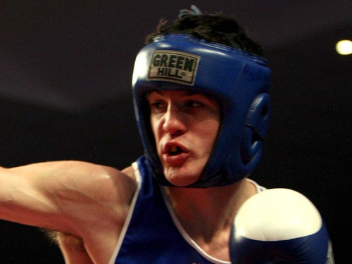 Middleweight Darren O'Neill stopped his opponent in the second round of his last-16 bout