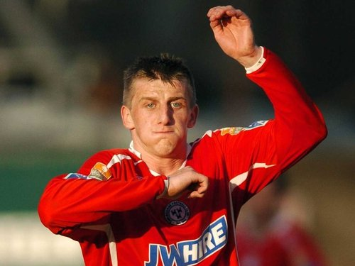 Shelbourne striker Anthony Flood