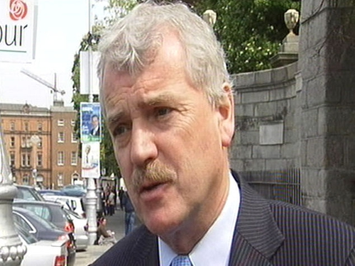 Finian McGrath - Threatens to withdraw support