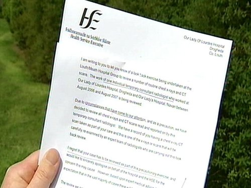 HSE - 4,590 patients told of review