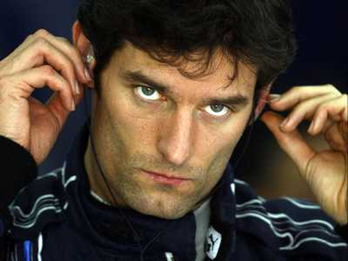 Mark Webber is happy with hia lot at Red Bull