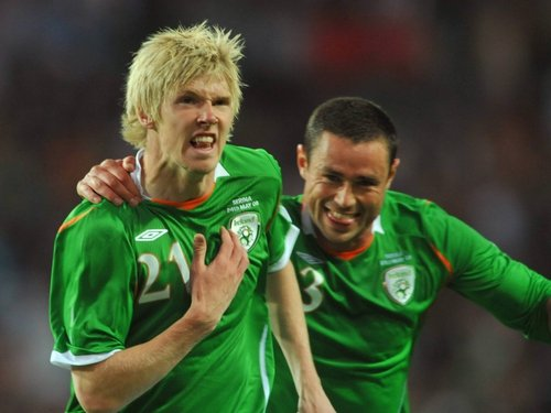 Andy Keogh equalised in the last minute to give Ireland a draw
