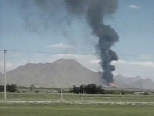 Iran - Fire engulfs pharmaceutical plant