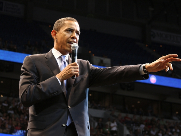 Barack Obama - Projected to be Democratic nominee
