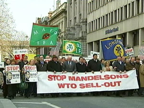 Protest - IFA President addressed Lisbon Treaty