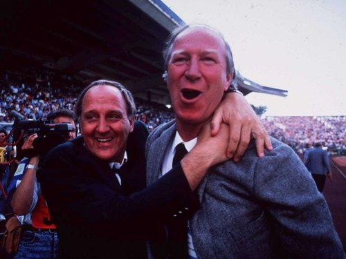 Jack Charlton and assitant manager Maurice Setters