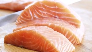 Richard Corrigan's Barbequed Organic Salmon