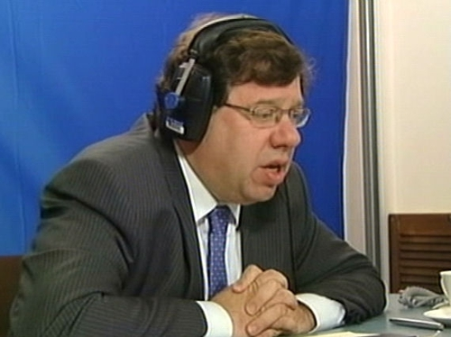 Brian Cowen  - Cutting short China visit