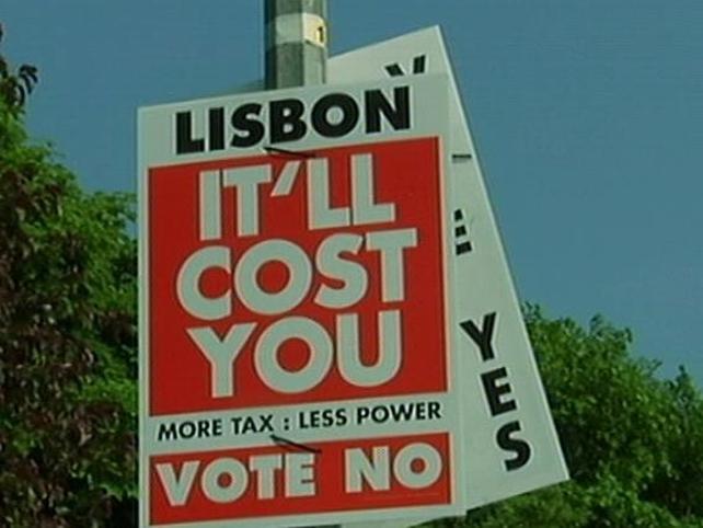 Lisbon Treaty - Yes side still marginally ahead