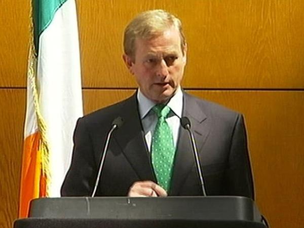 Enda Kenny - FG will not support ratification of Lisbon Treaty through Dáil