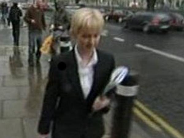 Sharon Collins - Accused of hiring hit man
