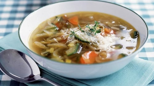 Clodagh McKenna's Orzo Vegetable Soup From Northern Italy