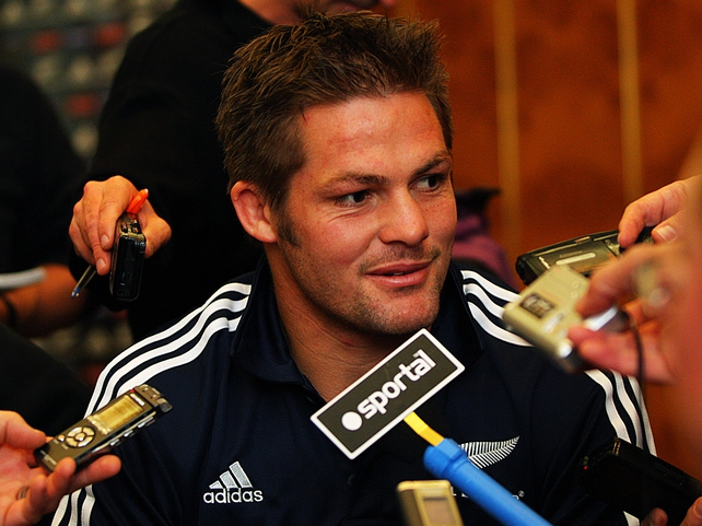 Richie McCaw was delighted with the All Blacks latest victory