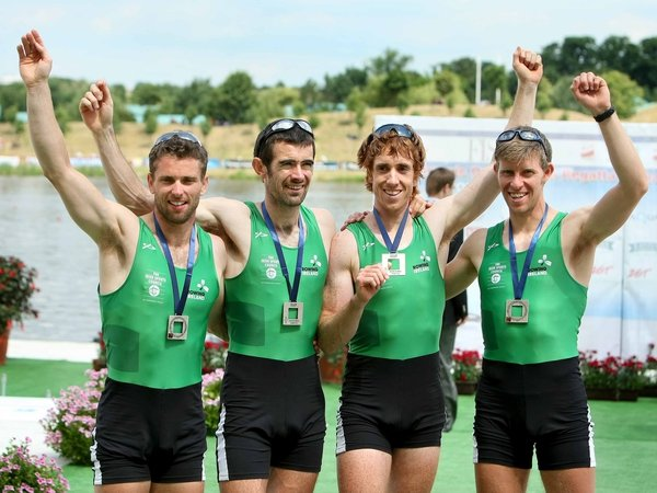 Paul Griffin, Gearoid Towey, Cathal Moynihan and Richard Archibald will make up the lightweight men's four team