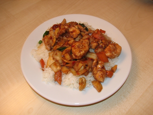 Kung Pao Chicken - A new menu translation is now available to Beijing restaurants