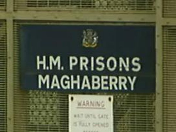 Maghaberry Prison - Inmates locked in cells