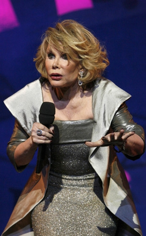 Comic Joan Rivers is rushed to hospital after her heart stops during a throat procedure at a clinic