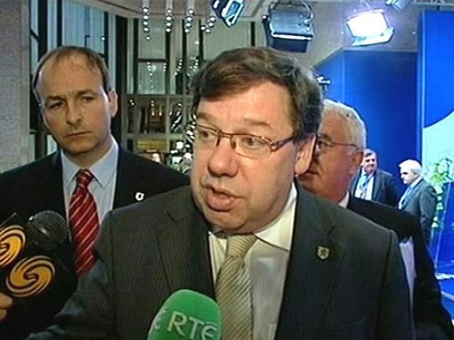 Brian Cowen - Civil partenership bill in programme for govt