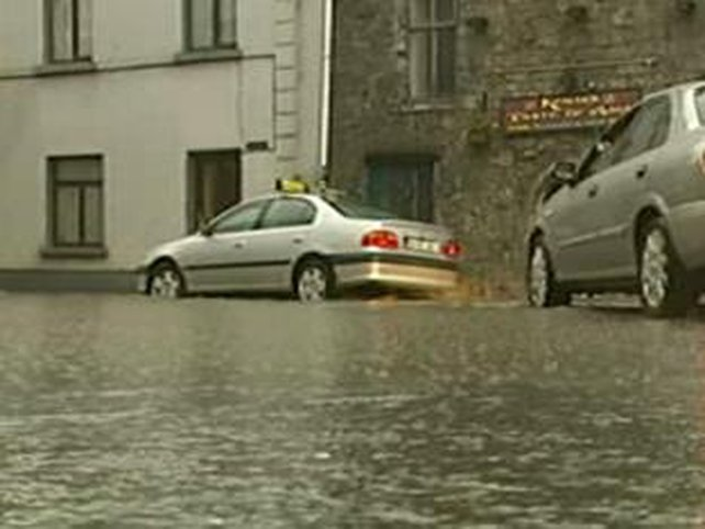 Galway - City affected by flooding