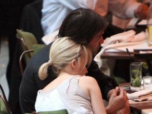 Kylie Minogue and Olivier Martinez