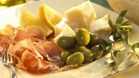 The Italian Antipasto Platter - A great appetiser for dinner parties.