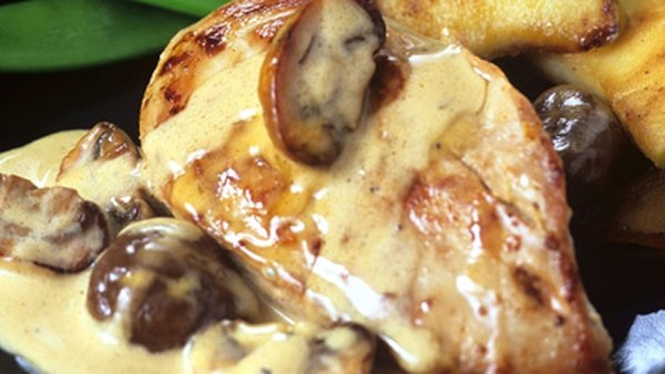 Pheasant With Confit Potato, Sprout Puree & White Beans: Thomas Haughton