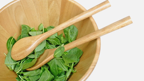 Layered Spinach, Ricotta Crepes, Sauté Mushrooms