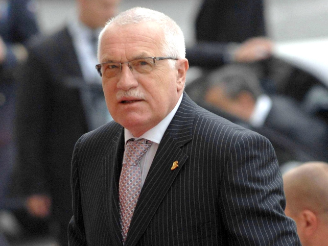 Vaclav Klaus - Criticises pressure from France