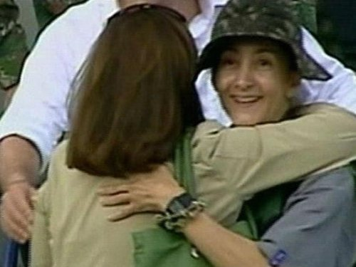 Ingrid Betancourt - Reunited with family after six years