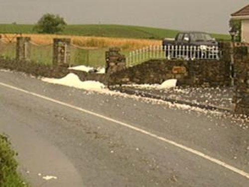 Skerries - Road race accident site