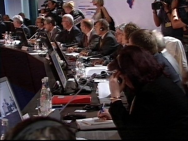 Cannes - EU ministers meeting