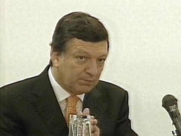 Jose Manuel Barroso - Paris summit on banking crisis