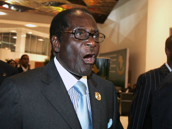 Robert Mugabe - Re-elected as party leader