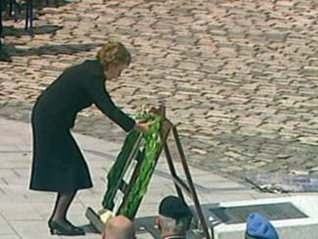 President McAleese - Attends ceremony