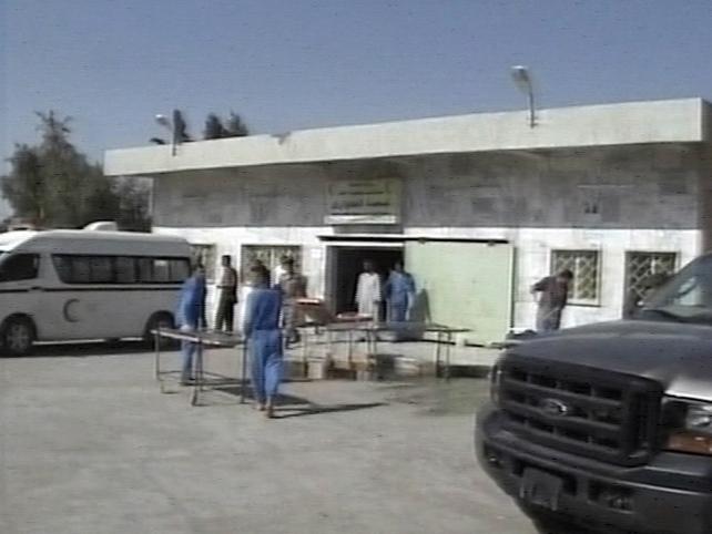 Baquba - 55 treated in hospital