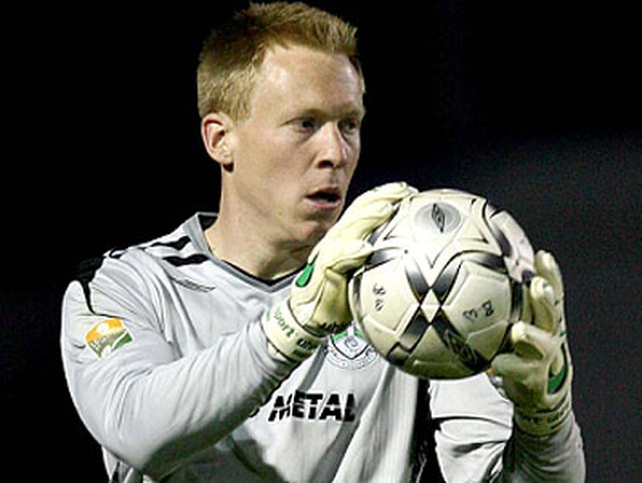 Bray keeper Chris O'Connor