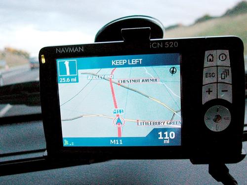 SatNav - Driving motorists to distraction