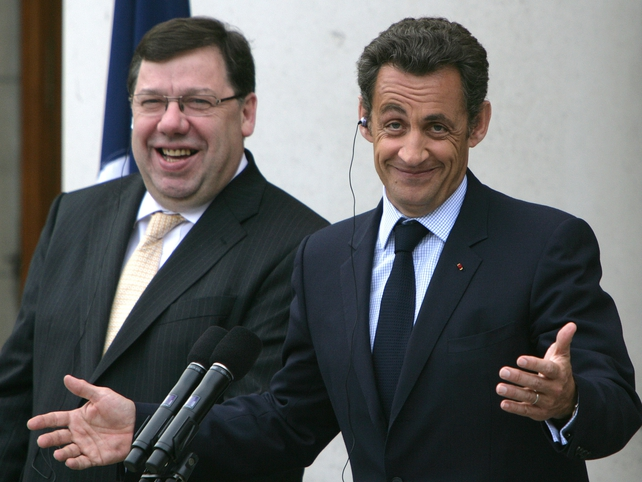 Cowen & Sarkozy - Dublin news conference