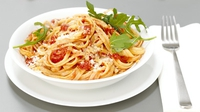 Pasta Sauce - A great way to use any small pieces of leftover vegetables and also to get children to eat vegetables