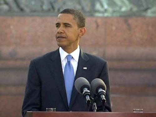 Barack Obama - Man held over alleged threat