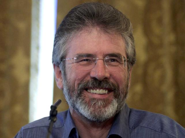 Gerry Adams - Expressed sadness