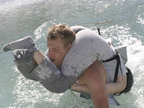 Wife-carrying - Trip to Finland is top prize - (Pic: Sneemfestival.com)