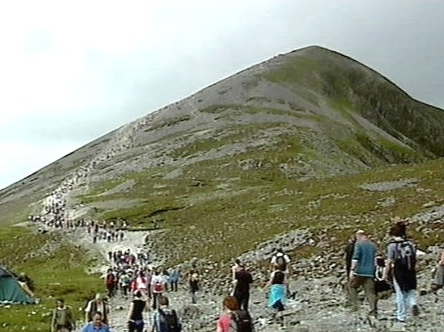 Croagh Patrick - Thousands attended Reek Sunday Mass
